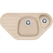 Franke Calypso CUG 651 E, 960x500 mm, fragranitový dřez, pískový melír 114.0284.891
