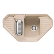 Franke Euroform EFG 682 E, 905x505 mm, Fragranitový dřez, pískový melír 114.0285.858