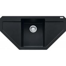 Franke Maris MRG 612 E, 960x500 mm, fragranitový dřez, matná černá 114.0637.572