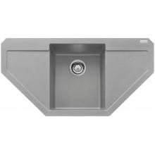Franke Maris MRG 612 E, 960x500 mm, fragranitový dřez, šedý kámen 114.0250.572