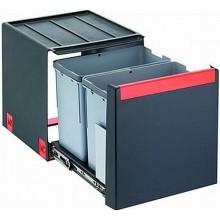 Franke sorter Cube 40 - 2x14 l 335x407x348 - ruční výsuv, 134.0039.330