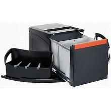 Franke sorter Cube roh- 2x18 l 345x700x335 - ruční výsuv, 134.0055.286