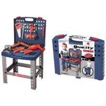 Dětské nářadí G21 kufřík a pracovní stůl 690400