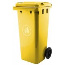 Popelnice G21 GA-240 L , žlutá 6390882