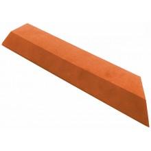 G21 WPC Přechodová lišta pro dlaždice třešeň 38,5 x 7,5 cm rohová (pravá) 63910073