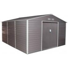G21 Zahradní domek GAH 1300 - 340 x 382 cm šedý 63900581