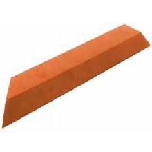 G21 WPC Přechodová lišta pro dlaždice třešeň, 38,5 x 7,5 cm rohová (levá) 63910075