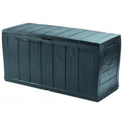 KETER SHERWOOD Stogare zahradní úložný box, 270 l, antracit 17198596