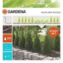 GARDENA MDS-startovací sada 15 m, pro rostliny v řádcích S, 13010-20