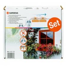 GARDENA plnoautomatické zavlažování pro 5-6 m květinových truhlíků, 1407-20