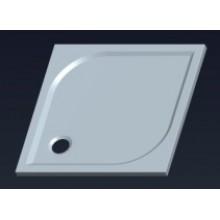 GELCO Q9 Karre 90 čtvercová sprchová vanička 90x90 litý mramor HQ009