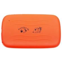 GoGEN Pouzdro na tablet MAXI KAPSA 7 O pro GoGEN MAXPAD 7, silikonové - oranžové
