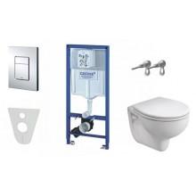 GROHE Rapid SL - Rapid SL pro závěsné WC, kompletní sada 38528SET-KR