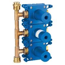 GROHE Rapido - Rapido C - těleso pro třícestný ventil pod omítku 35031000