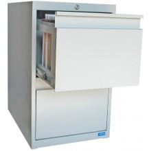 GÜDE ASG2 Skříňka na spisy kartotéka šedá 40880
