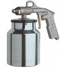 GÜDE pistole pro ošetření podvozků s nádobkou 18710