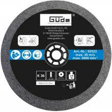 GÜDE Brusný kotouč vhodný pro brusku GDS 125 55523