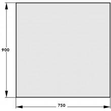 HAAS+SOHN Sklo pod kamna 900x750, formát A 1115409200000