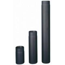 HAAS+SOHN Trubka kouřovodu, černá 1 m, 130 mm (1,5) 1101139910000
