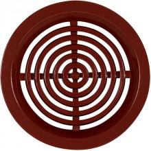 HACO větrací mřížka kruhová VM 50 H plast, hnědá 0414