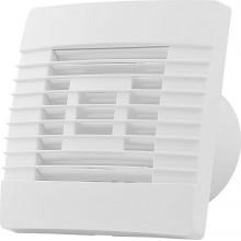 HACO Axiální ventilátor stěnový s žaluzií AV PRO 100 S, bílá 0917