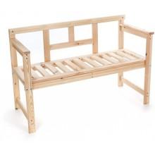 HAPPY GREEN Lavice dřevěná 120 x 45 x 80 cm 37LAV01-A