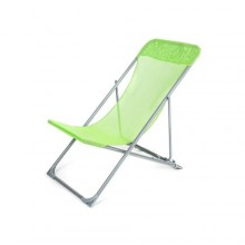 HAPPY GREEN Křesílko plážové skládací CARIBIC 56,5 x 91 x 96 cm, světle zelené 50323005LG