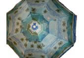 HAPPY GREEN Slunečník 180 cm palmy modré