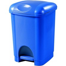 HEIDRUN odpadkový koš pedálový 16 l modrý 1411