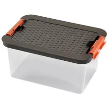 VÝPRODEJ HEIDRUN Box CLIP, víko Rattan, 16 x 34 x 23 cm, 8 l, 4602, BEZ VÍKA