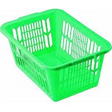 HEIDRUN Koš na čisté prádlo 25,5 x 59 x 39 cm, zelená 5077