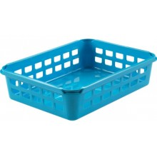 HEIDRUN Košíček malý 6 x 25 x 19 cm modrý 1095