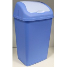 HEIDRUN Odpadkový koš ALTHEA 35 l, modrý 1352M