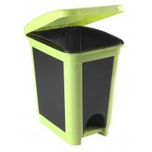 HEIDRUN Odpadkový koš pedálový 30 l, zelená 1494