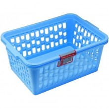 HEIDRUN Košíček velký, 14,5 x 36,5 x 25,5 cm, modrá, 1094