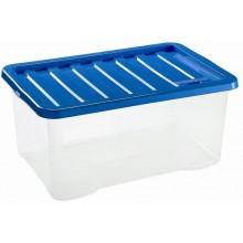 HEIDRUN Box úložný Quasar, 18 x 43 x 33 cm, 18 l, modrá 682Q