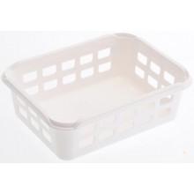 HEIDRUN Košíček malý 6 x 25 x 19 cm bílý 1095