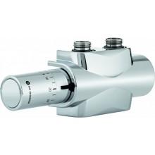 HEIMEIER Multilux 4-Set připojovací garnitura s termostatickou hlavicí, chrom 9690-28.800