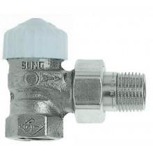 """HEIMEIER Termostatický ventil 3/4"""" CALYPSO-exact, DN10, zkrácený, rohový 3451-03.000"""