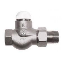 """HERZ TS-E Termostatický ventil M 28x1,5 plnoprůtočný, přímý 1"""", 1772303"""