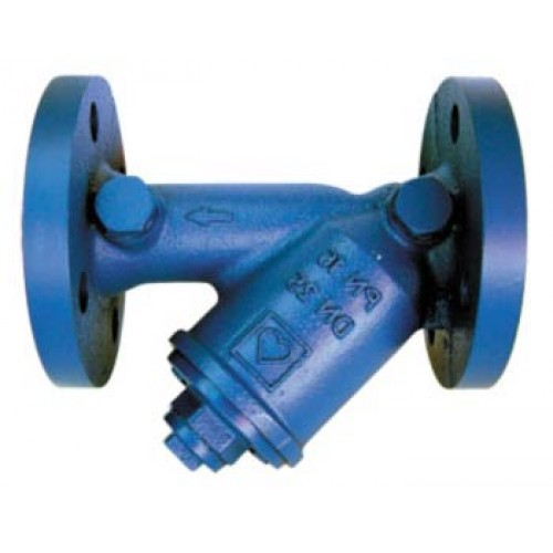 HERZ Filtr přírubový, šikmý oko 0,75 mm DN 40 1411185