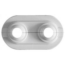 HERZ krytka potrubí, rozteč 50 mm, vnější průměr potrubí 14 - 20 mm, 1300350