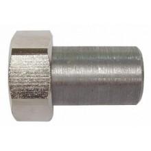 HERZ Varný nátrubek s převlečnou maticí s plochým těsněním 41,5mm, G 1-1/2, 1624064