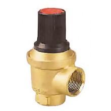 HERZ Pojistný ventil pro výkon kotle do 200 kW, DN 25, PN 3 1260803