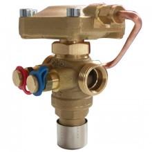 HERZ Kombi ventil - regulátor objem.průtoku G 3/4, DN 15 ( 40-400 l/h) 1400121