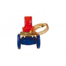 HERZ Regulátor tlakové diference 4007 F, DN 25 přírubový, plynulé nastavení 1400713