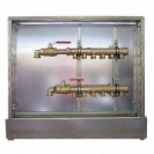 HERZ Kompletní rozdělovač pro připojení otopných těles 10-okruhový 1857410