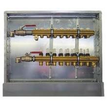 HERZ Kompletní rozdělovač pro připojení otopných těles 4-okruhový 1857504
