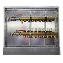 HERZ Kompletní rozdělovač pro připojení i podlahového vytápění 6-okruhový 1857606