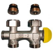 HERZ TS-3000 šroubení s termostatickým ventilem M 28 x 1,5 přímé, bez přednastavení 1369189